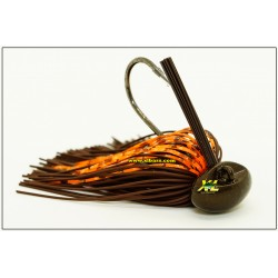 Bass Patrol Round Rubber Football Jig